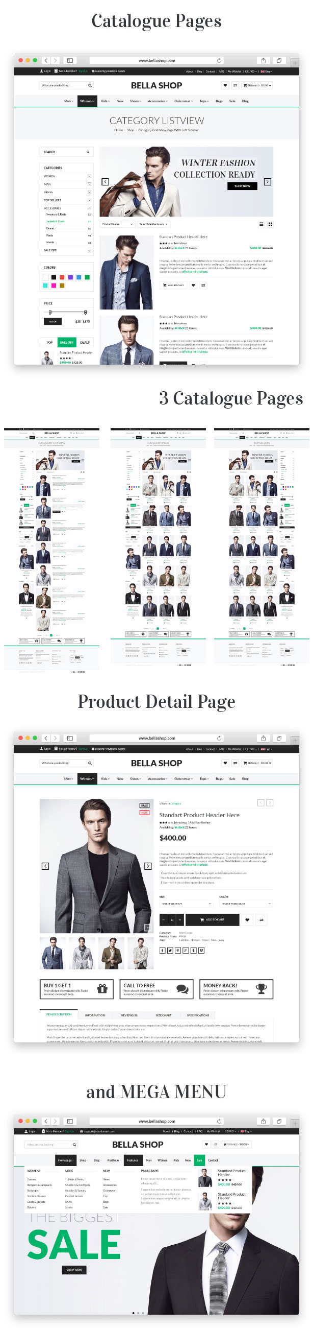 Bella - eCommerce Shop WordPress Theme - 14