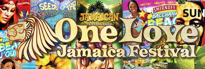 第2回ワンラブジャマイカフェスティバル2016のフライヤー1