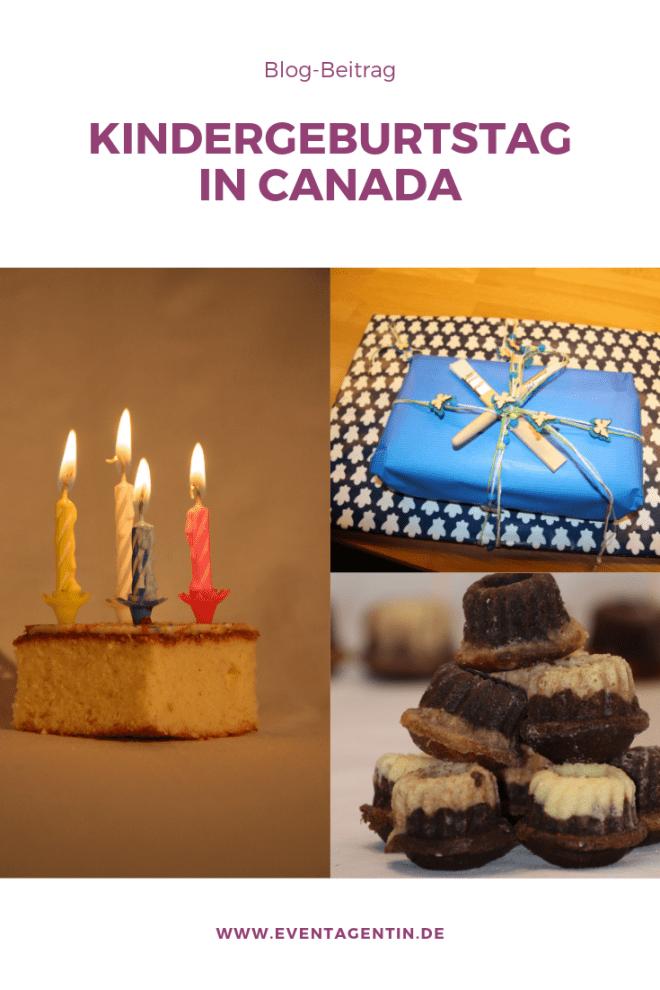 Kindergeburtstag in Canada Blog Beitrag