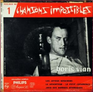 Boris Vian chansons impossibles