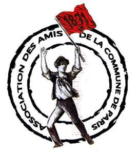 ancien logo les amis de la commune de paris 1871