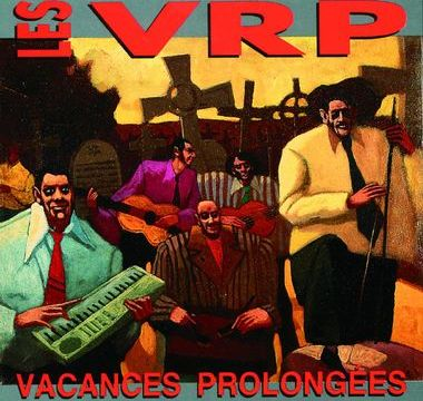 pocette de l'album vacances prolongées des VRP
