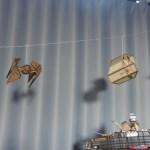 vaisseaux star wars fait à découpe laser