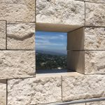 Hole in the Wall View at Getty Center @EventAnne. All Rights Reserved