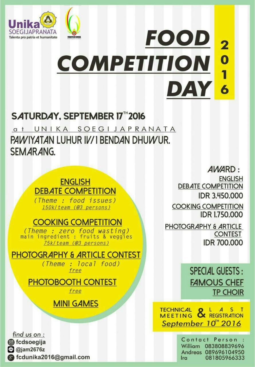 Food Competition Day | Event Apa Aja