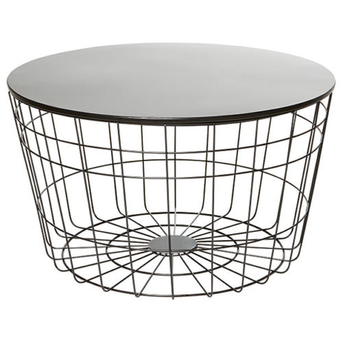 round wire coffee table event avenue