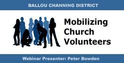 Webinar: Mobilizing Volunteers in UU Congregations