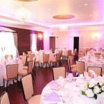 clean, white spring wedding lehigh valley event center at blue | Bethlehem PA Wedding Venues