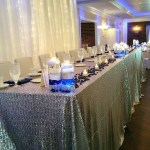 Where should you sit at your wedding reception? Sweetheart Tables, Wedding Party Tables, and more... we've got your options covered.