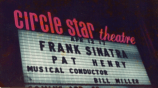 Frank Sinatra on the Circle Star Billboard