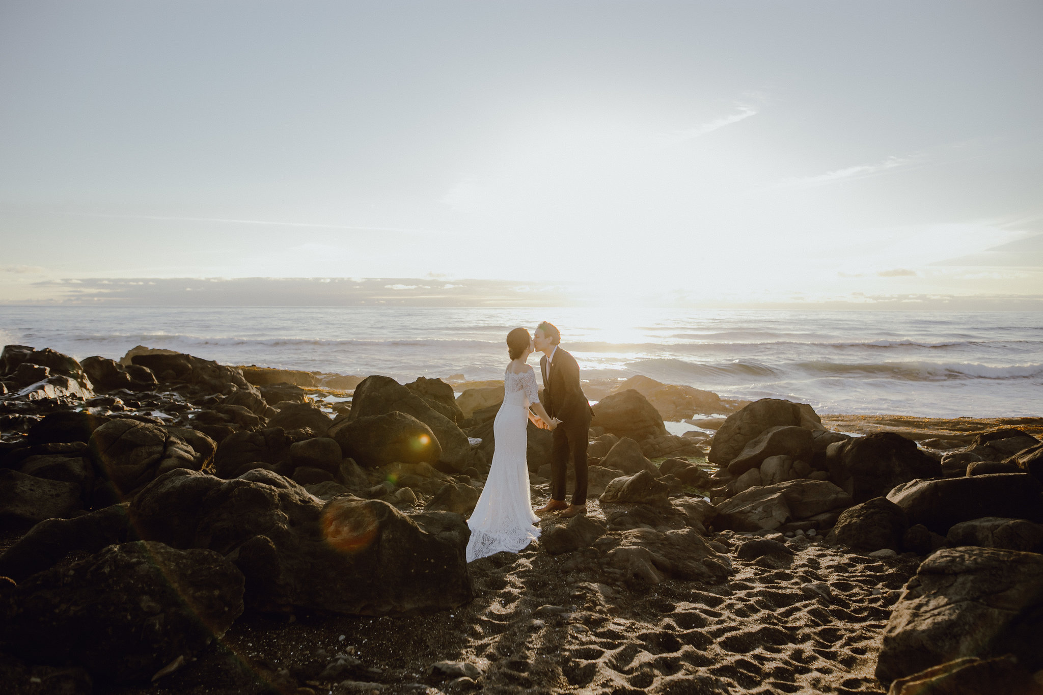 These sunset images of Nicole and Manny are absolutely stunning...they are such a beautiful couple, inside and out!