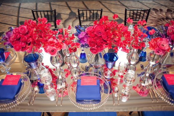 Blue Wedding Color Combination Ideas