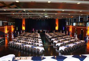 Event Forum Castrop - Räumlichkeiten - Europahalle - Innenansicht - Feier