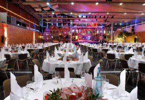 Event Forum Castrop - Räumlichkeiten - Europahalle - Innenansicht - Gala