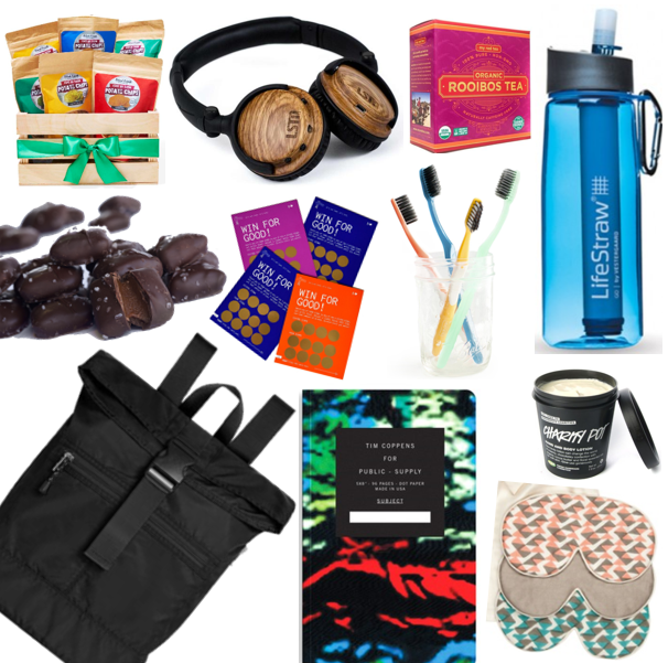 Gifts that Give back - A Complete Conference Swag Bag of Charitable Gifts
