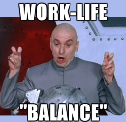 austen powers work life balance