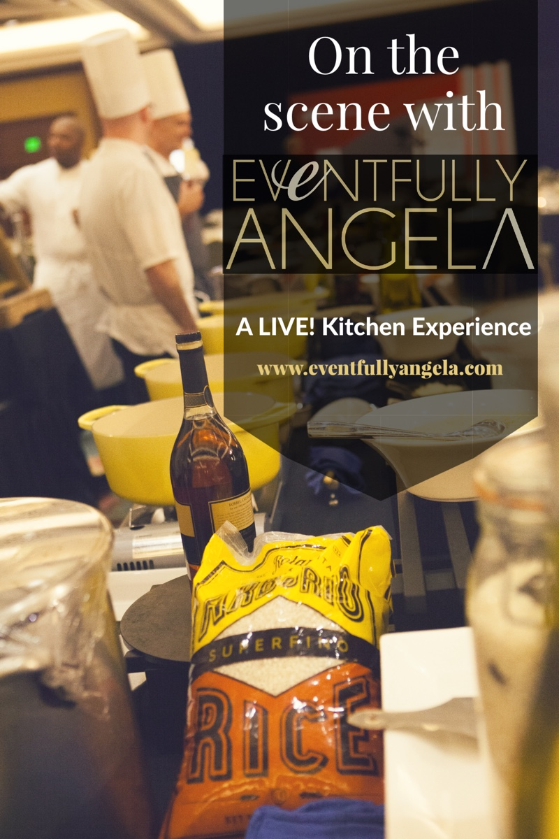 Eventfully Angela | Corporate Event Management: Live Kitchen Experience