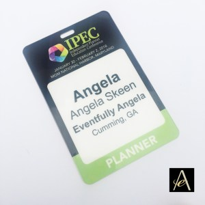 name badge design