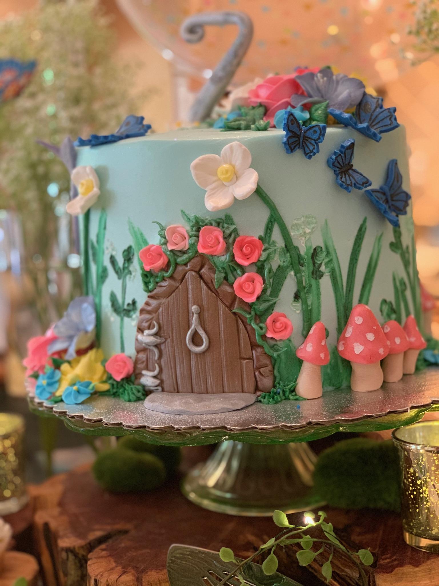 Fairy Party Theme Cake