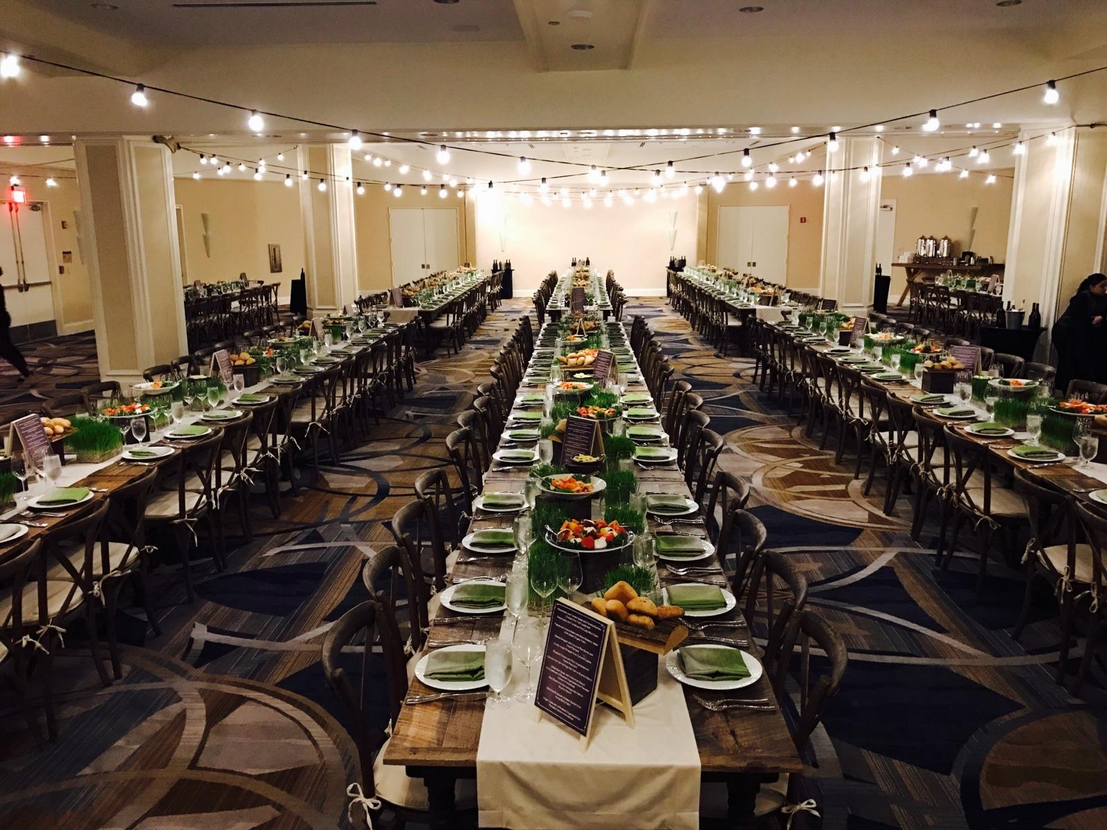 Farm to Table Corporate Dinner