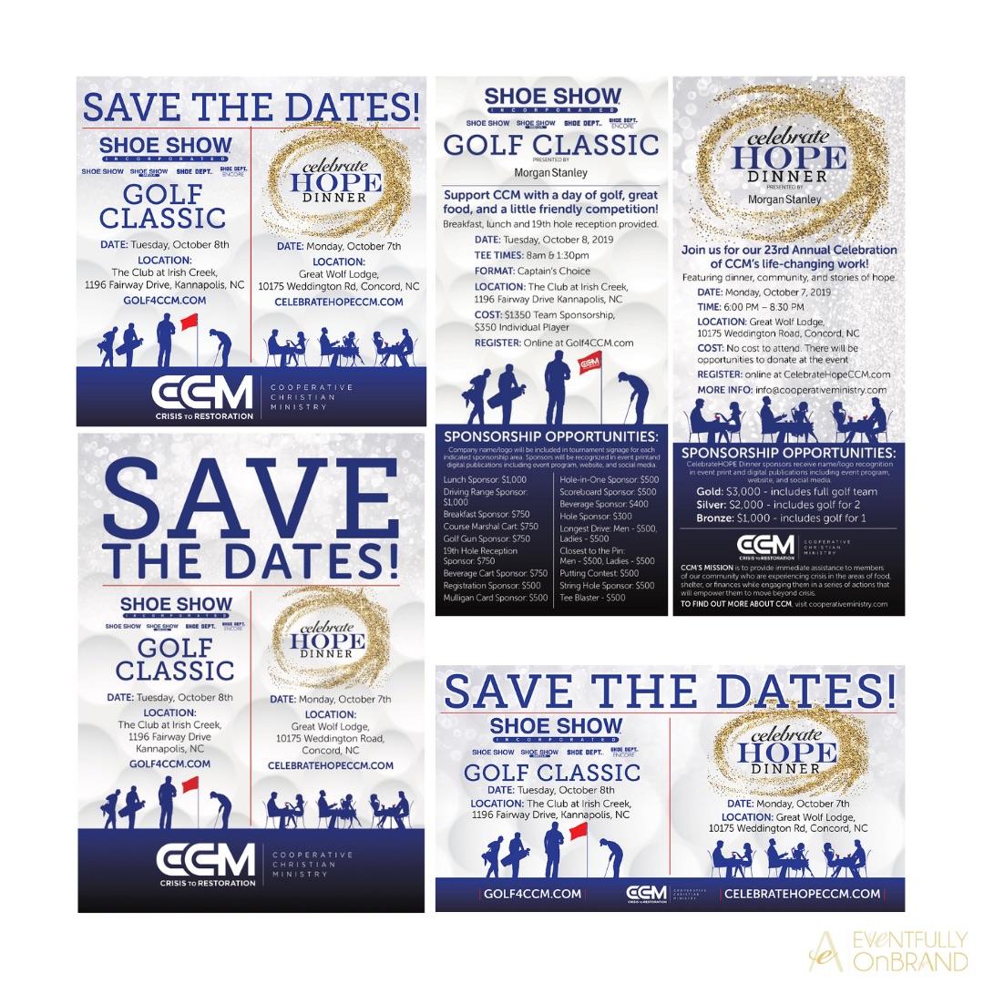 Nonprofit Save the Dates