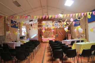 Pink_Yellow_White_theme_birthday_party_decoration_03