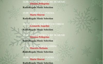 Otranto. RadioRegalo La programmazione del 27 dicembre 2020