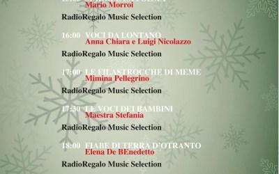 Otranto. RadioRegalo: La programmazione del 26 dicembre 2020