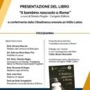 """Botrugno. Domani la presentazione del libro """"Il bambino nascosto a Roma"""" a cura di Donato Maglio"""
