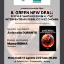 Antonello Durante ad Otranto il 18 agosto per presentare il suo ultimo libro sul Green New Deal