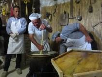 formaggio in preparazione