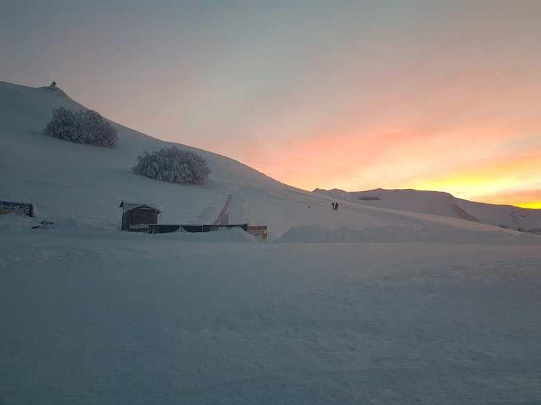Concerto sulla neve dei Monti Sibillini