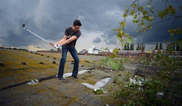 Cross-golf in Baiersbronn