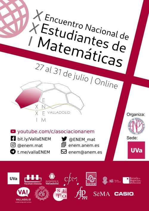 XXI Encuentro Nacional de Estudiantes de Matemáticas 2020