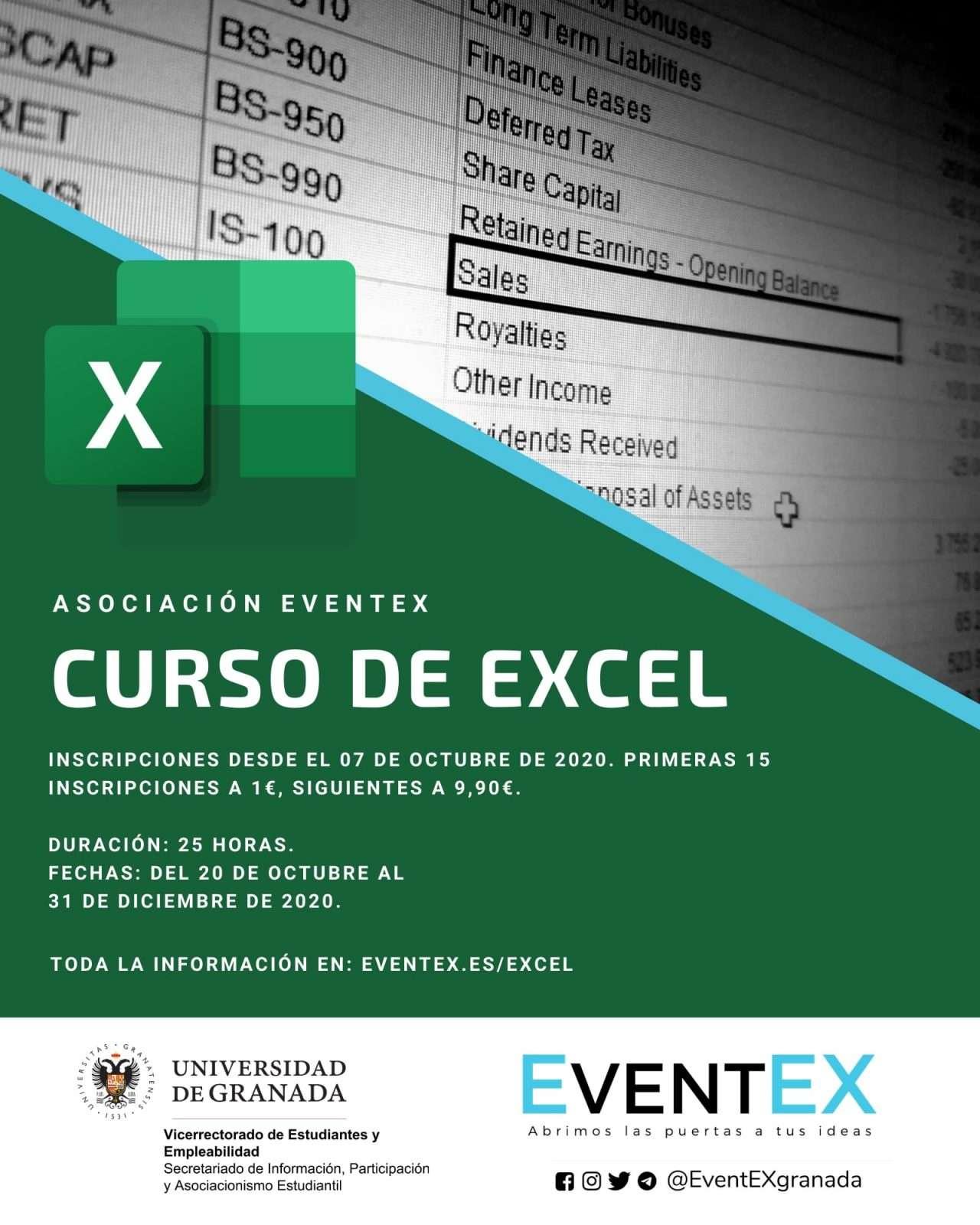 Curso de Excel - Asociación EventEX