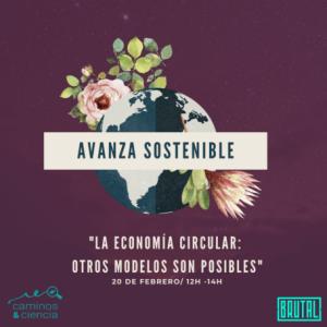 """""""LA ECONOMÍA CIRCULAR: OTROS MODELOS SON POSIBLES"""" – Webinars Avanza Sostenible"""