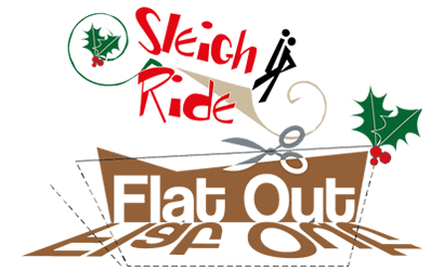 flatout sleigh ride feature logo
