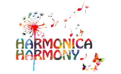 harmonica harmony feature logo