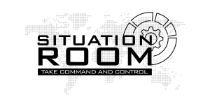 Situation Room Logo -White