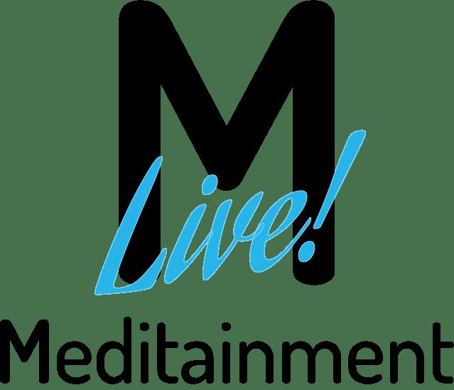 meditainment LIVE logo - transparent
