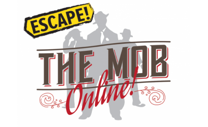 virtual escape room escape the mob logo