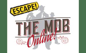virtual escape room escape the mob logo