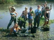 Limpieza de ríos y riberas