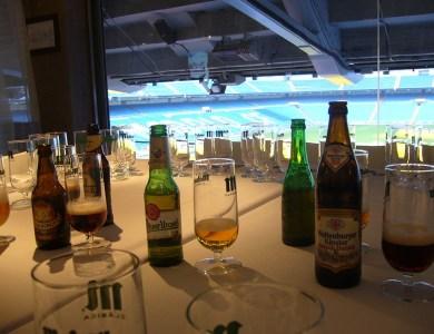 Cata de Cervezas en el Real Café del Bernabéu por Eventos de Autor