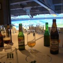 Cata de Cervezas en Real Café del Bernabéu por Eventos de Autor