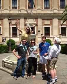 Gymkana por Sevilla con tablets _17