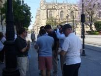 Gymkhana por Sevilla con tablets _5