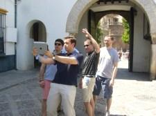 Gymkahna por Sevilla con tablets _9