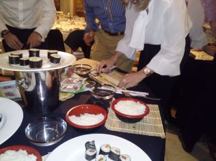 Taller de Sushi en el Palacio de Santoña _12