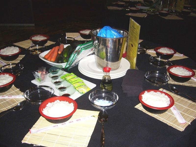 Taller de Sushi en el Palacio de Santoña _5